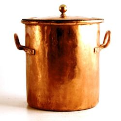 Color Cobre - Copper!!! 19th century french stockpot