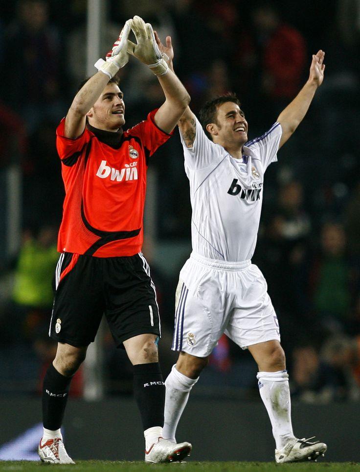 Fabio and Iker Casillas