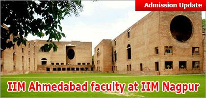 "IIM Ahmedabad faculty at IIM Nagpur; classes for first batch of 60 students to commence in July 2015 http://www.mbauniverse.com/article/id/8562/IIM-Nagpur  IIM Ahmedabad Dr Ashish Nanda in consultation with all stake holders has devised the plans to provide complete mentorship to IIM Nagpur.  ""IIM Ahemdabad, IIM A, IIM Nagpur, IIM Admission criteria, IIM Nagpur admission, IIM Nagpur first batch, IIM Nagpur commencement"""