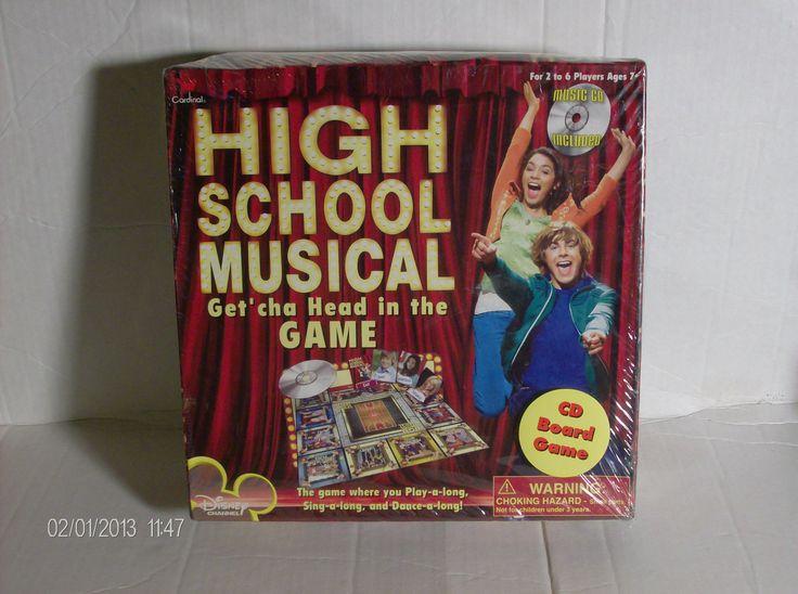 Games: Disney High School Musical CD Game