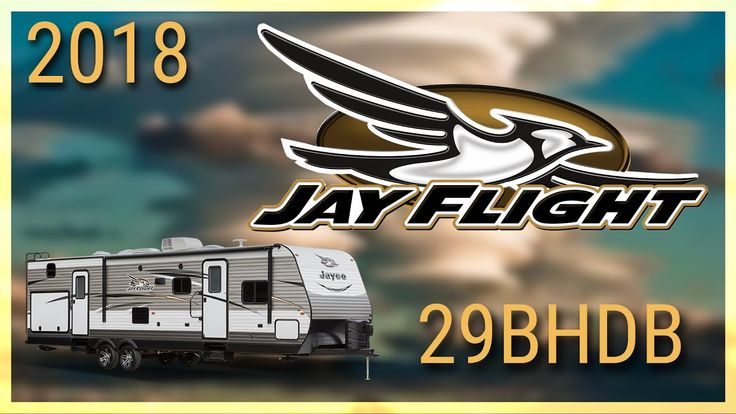 2018 Jayco Jay Flight 29BHDB Travel Trailer RV For Sale TerryTown RV Superstore Check out 2018 Jay Flight 29BHDB now at http://ift.tt/2trQuMK or call TerryTown RV today at 616-426-6407!  The 2018 Jay Flight 29BHDB travel trailer is perfect for families on the go!   This family RV has a rounded aerodynamic front cap along with dual 30-pound propane bottles hitch lighting and a power tongue jack. The Jay Flight runs on 30 amp service has a 13500 BTU roof-mounted A/C unit and a 6 gallon DSI…