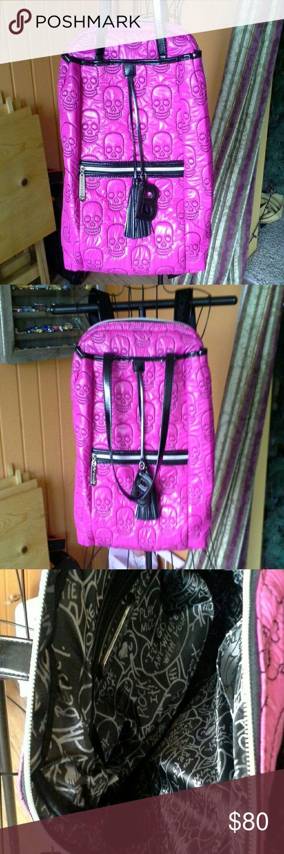 Spotted while shopping on Poshmark: Betsey Johnson quilted backpack! #poshmark #fashion #shopping #style #Betsey Johnson #Handbags
