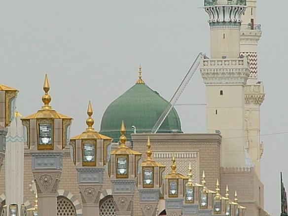 Green Dome,Masjid Nabawi