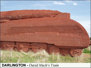 Brick sculpture