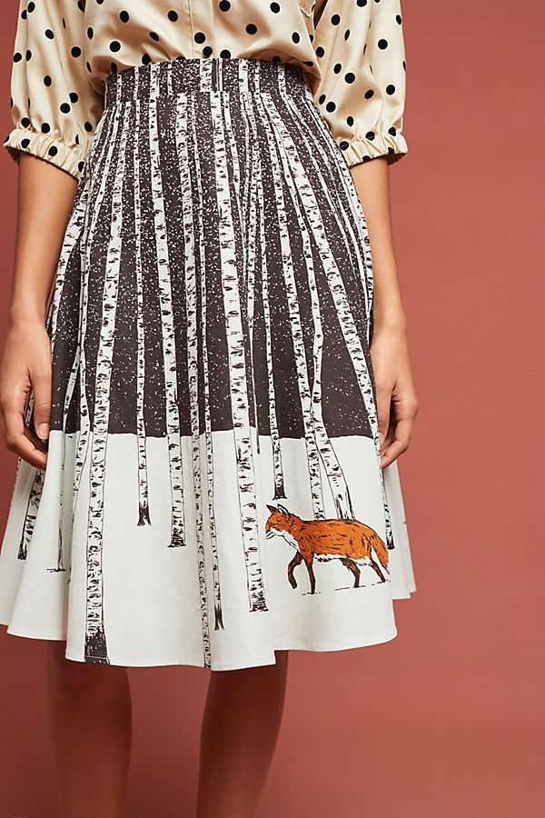 d94ab8d49662 Slide View: 3: Corey Lynn Calter Winter Fox Skirt | Winter Wear in ...