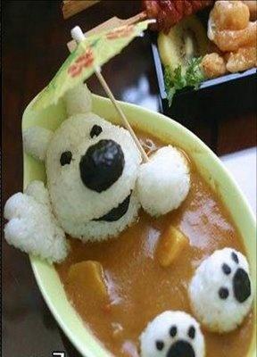 Curry dog!