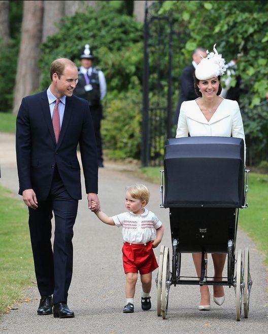 #Royals : #Kate et #William baptisent leur princesse