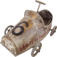 Vintage Car perfect Childrens room decor - Lifestyle Home and Living