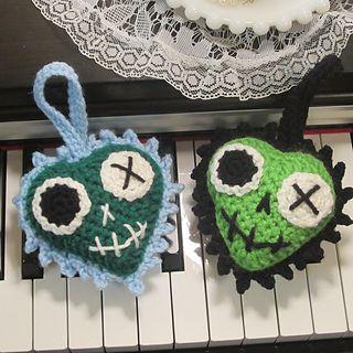 Ravelry: Crochet Zombie Heart Luvz pattern by Starling