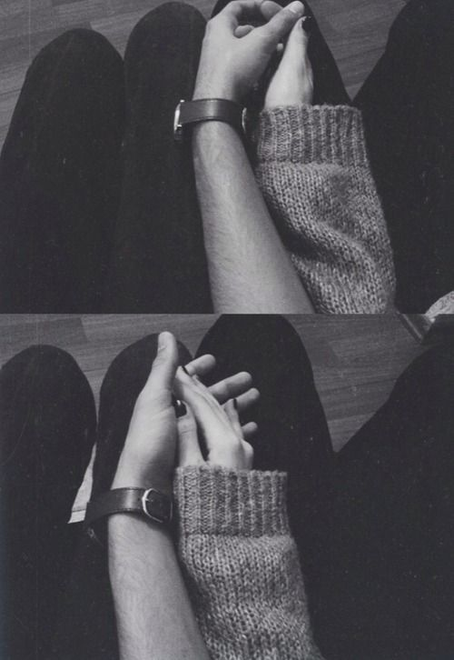 It was the way his hand felt next to hers.