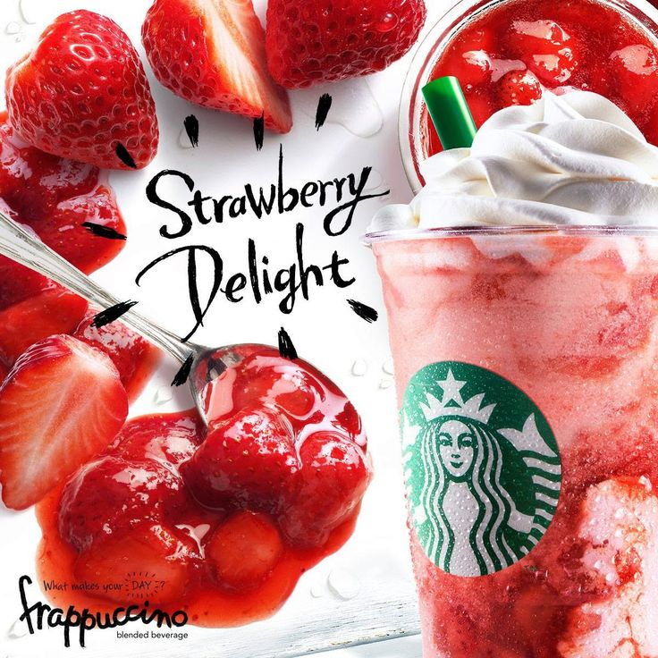 Food Science Japan: Starbucks Strawberry Delight Frappuccino