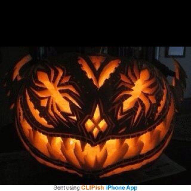 Spider Jack-o-lantern! Yes!!!