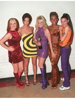 The Spice Girls are back! We shop out each of their signature looks: http://lcky.mg/ND3jUX
