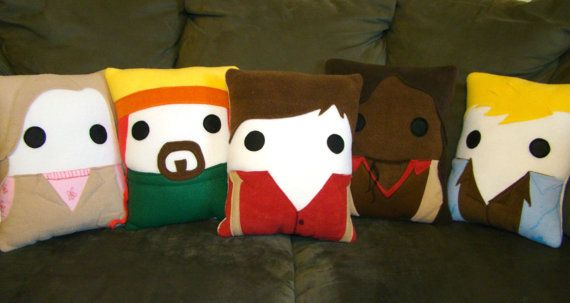 Firefly Serenity Pillow Malcolm Jayne Plush by telahmarie on Etsy