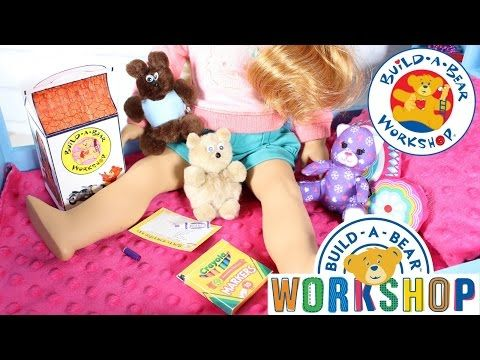 American Girl Craft Ideas Build A Bear