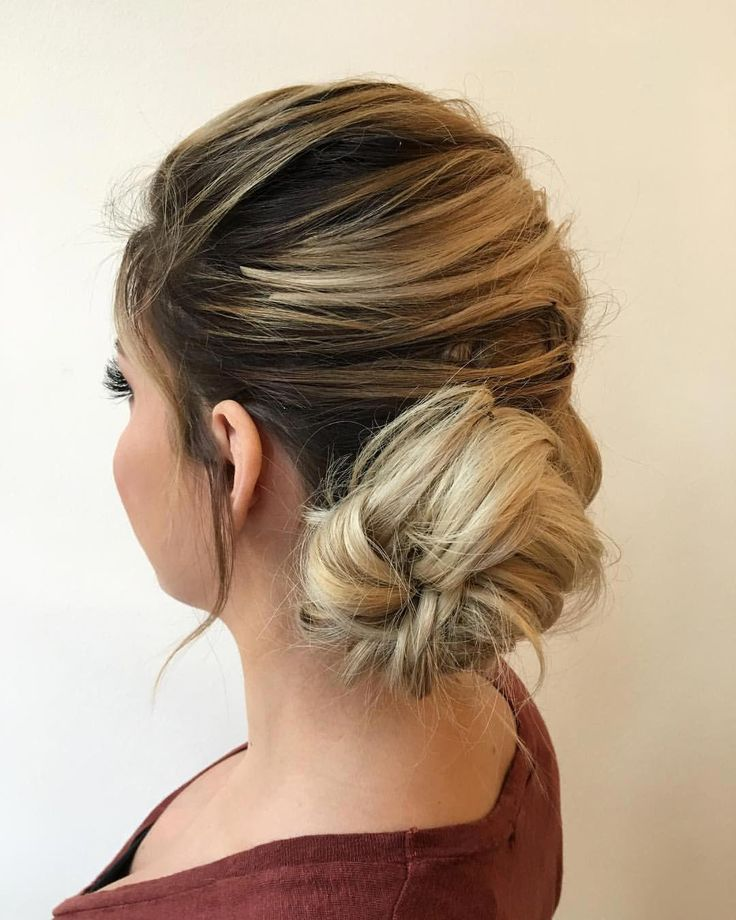updo inspiration for an elegant + vintage wedding hairstyle