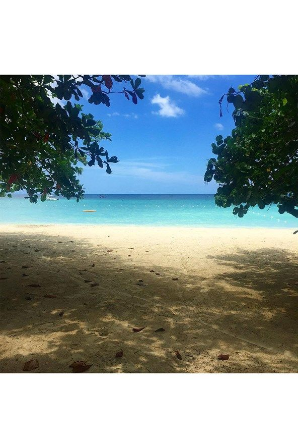 Beach at Idle Awhile Resort, Negril.   The Vogue team share their tips for a holiday to Jamaica - where to stay, what to buy, where to eat and what to see if you're travelling to Jamaica.