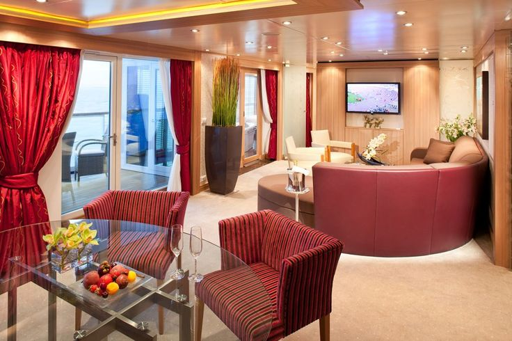[Wintergarden Suite ](http://www.seabourn.com/main/Main.action)**What works**: Whether you're talking about its lavish public rooms, its airy spa, its cinema, or its staterooms, _S.S. Antoinette_ is not only the most gorgeous riverboat afloat, it's also quite possibly the most beautiful ship anywhere. Its suites, like this one, which I've dubbed the mint chocolate box, are magnificent. All have different themes but share in common Savoir beds, original artwork, silk-lined walls, and…