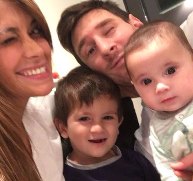 Le Messi  The family