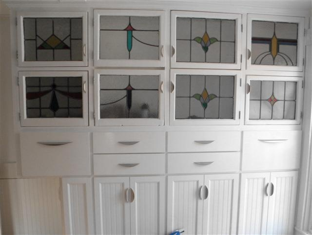 Each Of These Glass Cabinet Doors Is A Repurposed Beauty Recycled From The  Panes Of An Old Drugstore. Made Into Doors, Each Cabinet Is Custom Fit To  ... Part 75