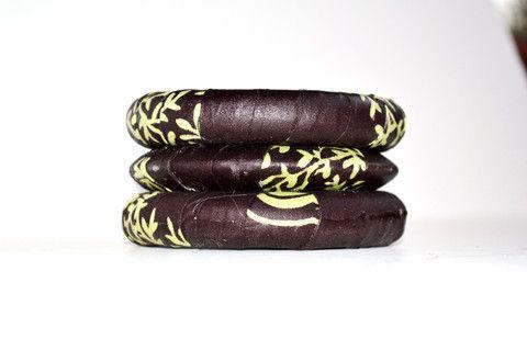 Партия ювелирные изделия способа, африканские Анкара браслеты и серьги, День Святого Валентина Подарок, ювелирные изделия - ювелирные изделия себе, ручной подарочный набор - Zabba Дизайн Африканский Магазин одежды - 1