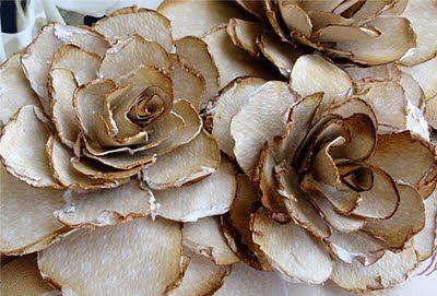 Distressed Paper Roses