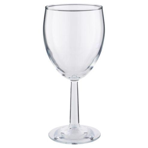 Tesco Basics Wine Glass