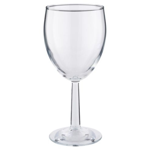 Tesco Basics Wine Glass