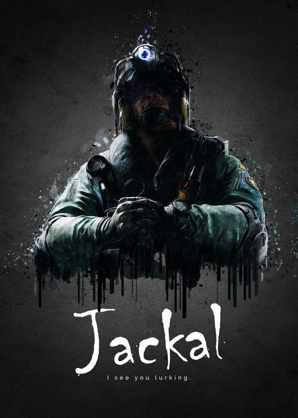 Operator Jackal from Rainbow S    by TraXim Design | metal