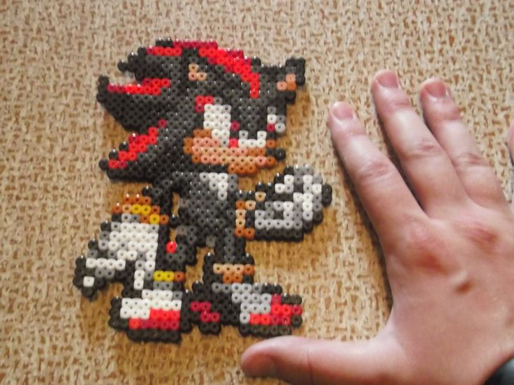 Sonic Knuckles Perler By Darkhhhhhh Deviantart Fondos De Pantalla