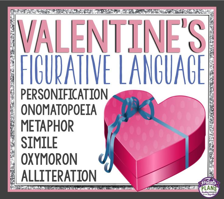 Bring Valentine's Day into your middle and high school classes while also covering common figurative language/ literary devices used in poetry or fiction.