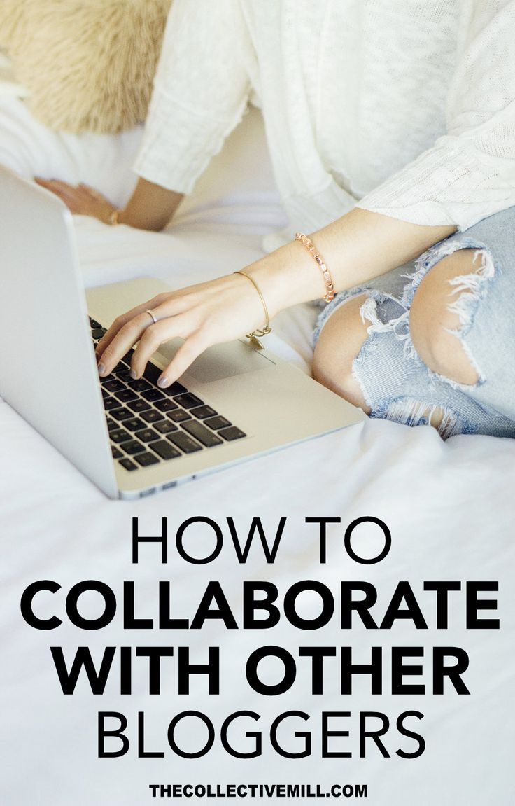 How to Collaborate with Other Bloggers, Grow Your Blog, and Make Friends! If you're looking to increase your blog traffic, grow your community, and even improve your SEO + Google ranking this post is perfect for you. Repin this and click through to find out the best ways to partner with other bloggers. TheCollectiveMill.com