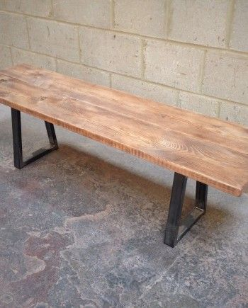 Revive Joinery - Reclaimed Wood Scaffold Board Bench