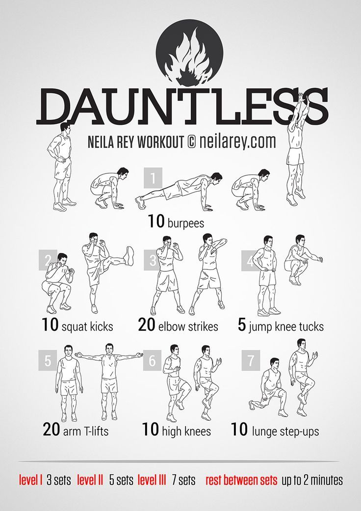 Dauntless Workout