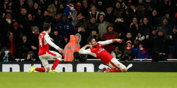 Le but monstrueux d'Olivier Giroud pour Arsenal ! (VIDEO)