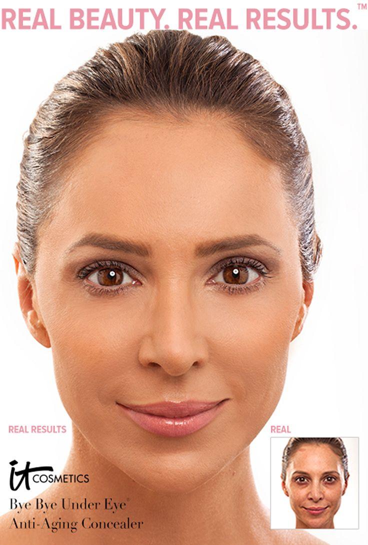 Under Eye Makeup Brush: Bye Bye Under Eye Full Coverage Anti-Aging Waterproof