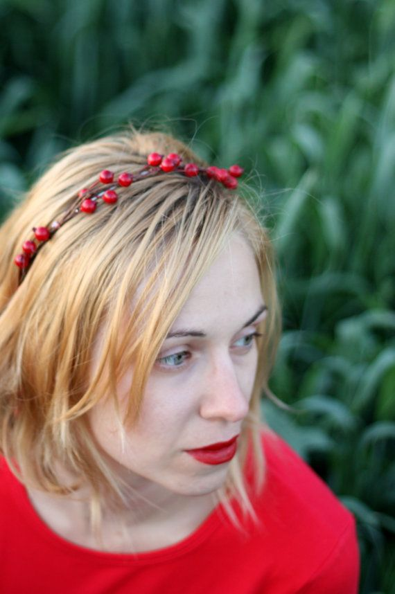 rowan berry headband