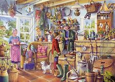 Gibsons the Fishing Shed Jigsaw Puzzle (1000 Pieces)