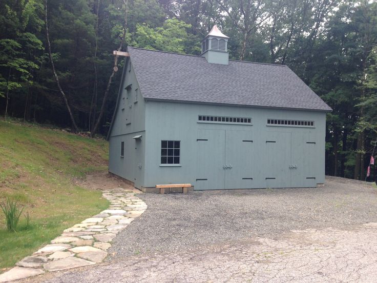 41 best images about larger 1 1 2 story barns on pinterest for Post beam garage plans
