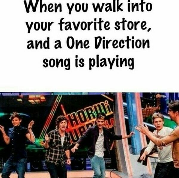 YASSSS EXCEPT I LITERALLY AM DANCIN LIKE CRAZY AND SINGING IT LOUDLY AND EVERYONE STARES AT ME BUT IDC