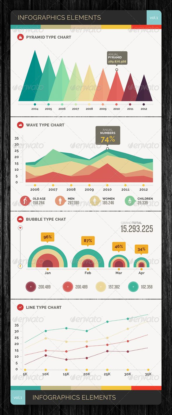 Infographics Elements Vol.1 - http://startupstacks.com/infographics/infographics-elements-vol-1.html - free download