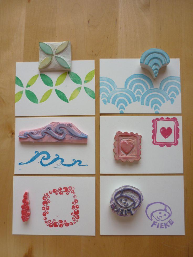 Unique eraser stamp ideas on pinterest hand cannot