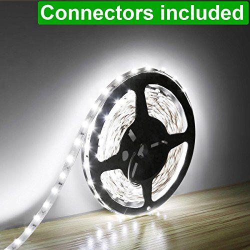 Filamento LED flexible Lighting EVER Lampux Filamento LED flexible, Blanco diurno, de 300 Unidades 3528 SMD LED, no es resistente al agua, iluminac