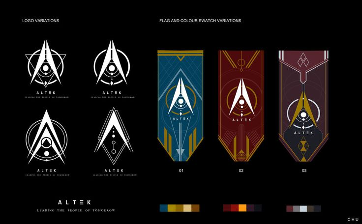 ALTEK Flag/Logo work, Janice Chu on ArtStation at https://www.artstation.com/artwork/L8ZO5