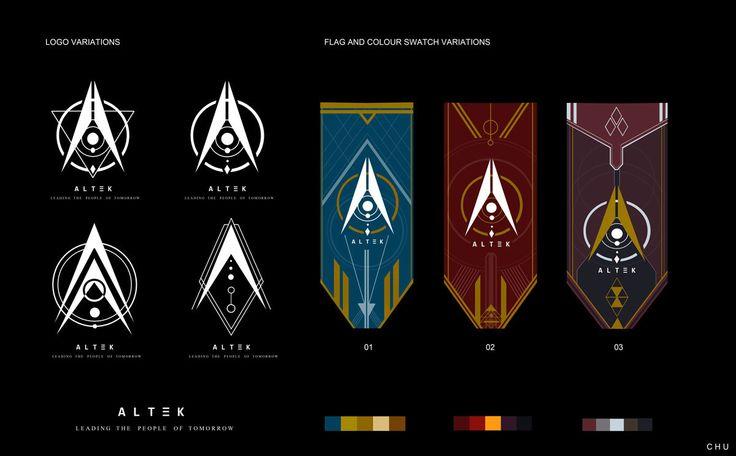 ALTEK Flag/Logo work, Janice Chu on ArtStation at https://www.artstation.com/artwork/L8ZO5