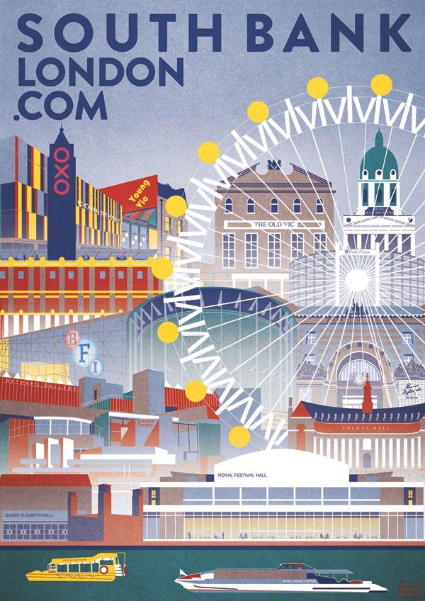 Southbank London | Red Gate Arts