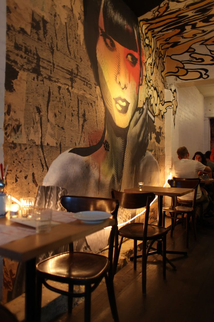 Restaurant Bar Wall Decor : Best restaurant design images on cafes