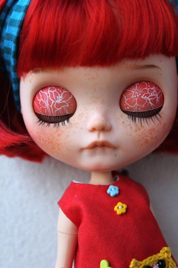 Fantasie OOAK benutzerdefinierte Blythe Puppe von von meadowdolls