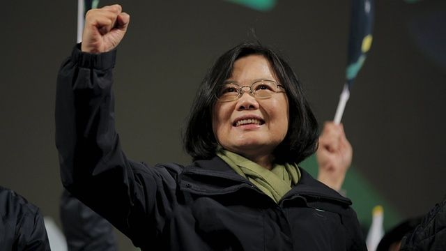 Tsai Ing-wen wins historic victory as voters express dissatisfaction with economy and outgoing leader