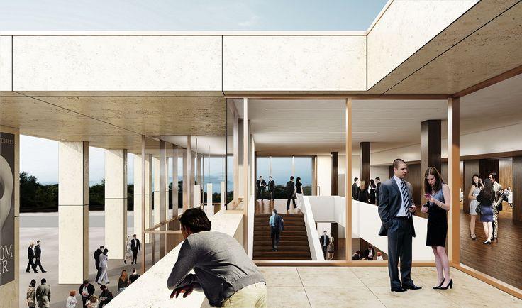 wettbewerb sanierung stadthalle sinsheim 3d visualisierung wettbewerbsperspektive 3d. Black Bedroom Furniture Sets. Home Design Ideas